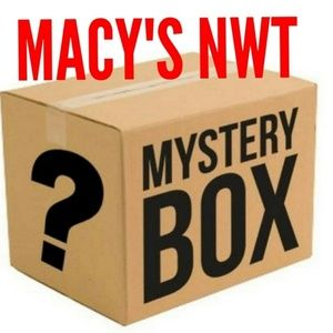 Other - 5 ITEMS Macy's Reseller Mystery Box NWT